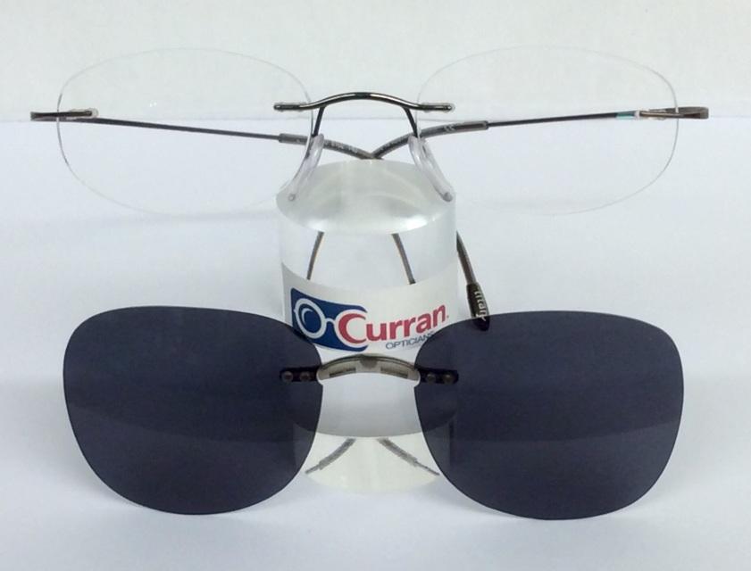 Sun Clips for Rimless Frames (Customized)